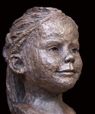brons meisje
