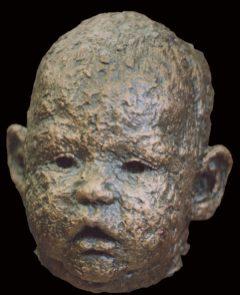 portret baby kopje