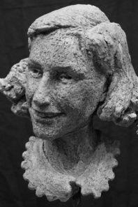 portret Anne Frank