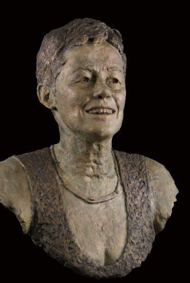 portret bronzen borstbeeld