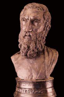 portret Epicurus