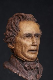 bronzen portret Thorbecke
