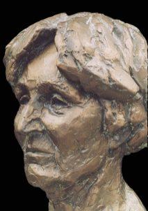 bronzen portret