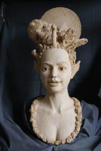 portret vrouw keramiek