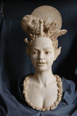 portretbeeld van vrouw