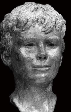 opdracht bronzen portret