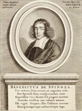 Portret Benedictus de Spinoza