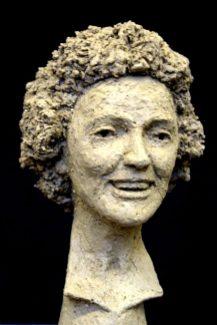 portretbeeldje Edith Piaff