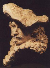 Rembrandt, keramisch portret