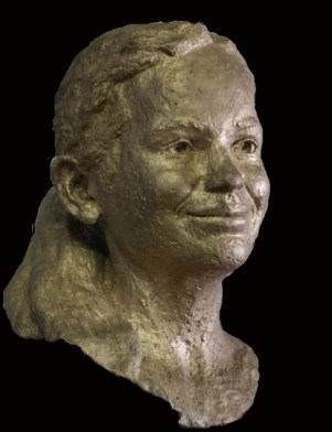 portret bronzen meisje
