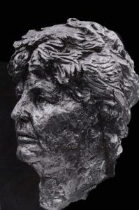 3d-bronzen protretbeeld