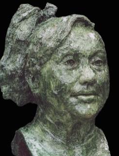 bronzen kop