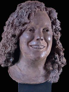 Annemarie in brons