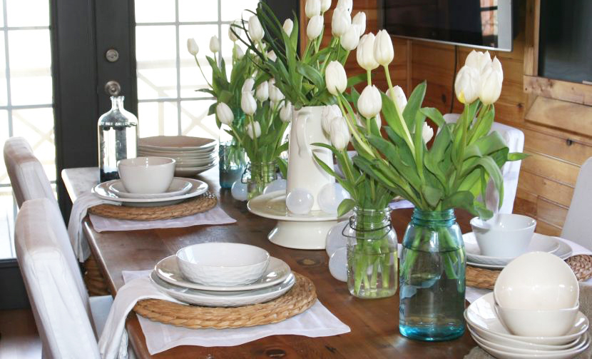How To Decorate Dining Table For Everyday Roy Home Design