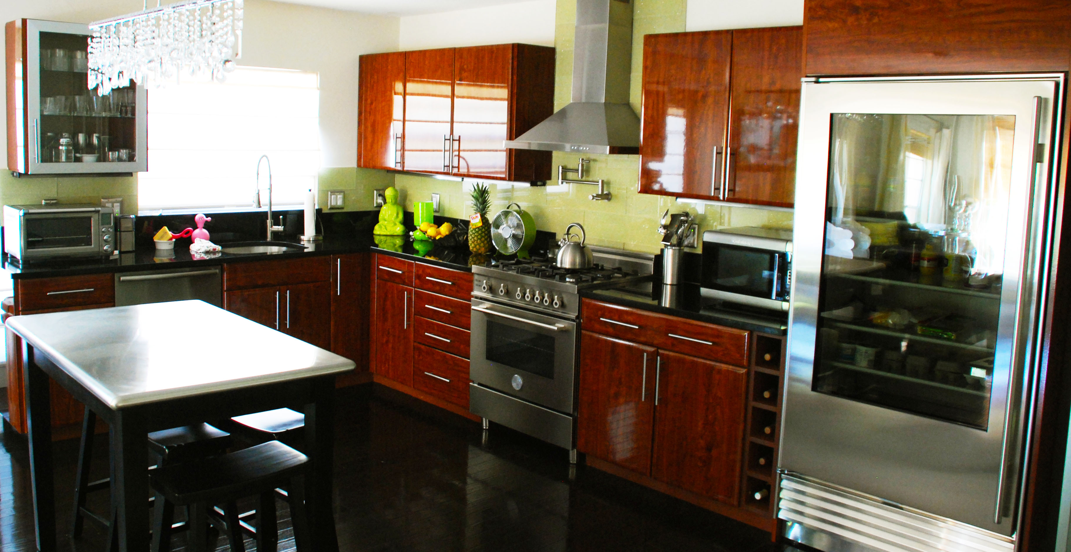 coffee color kitchen cabinets wooden playsets be brave to apply espresso with granite