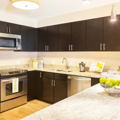 Coffee Color Kitchen Cabinets Rustic Pendant Lighting Be Brave To Apply Espresso With Granite