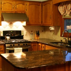 Kitchen Cabinets Countertops Ideas Bench Style Tables Be Brave To Apply Espresso With Granite