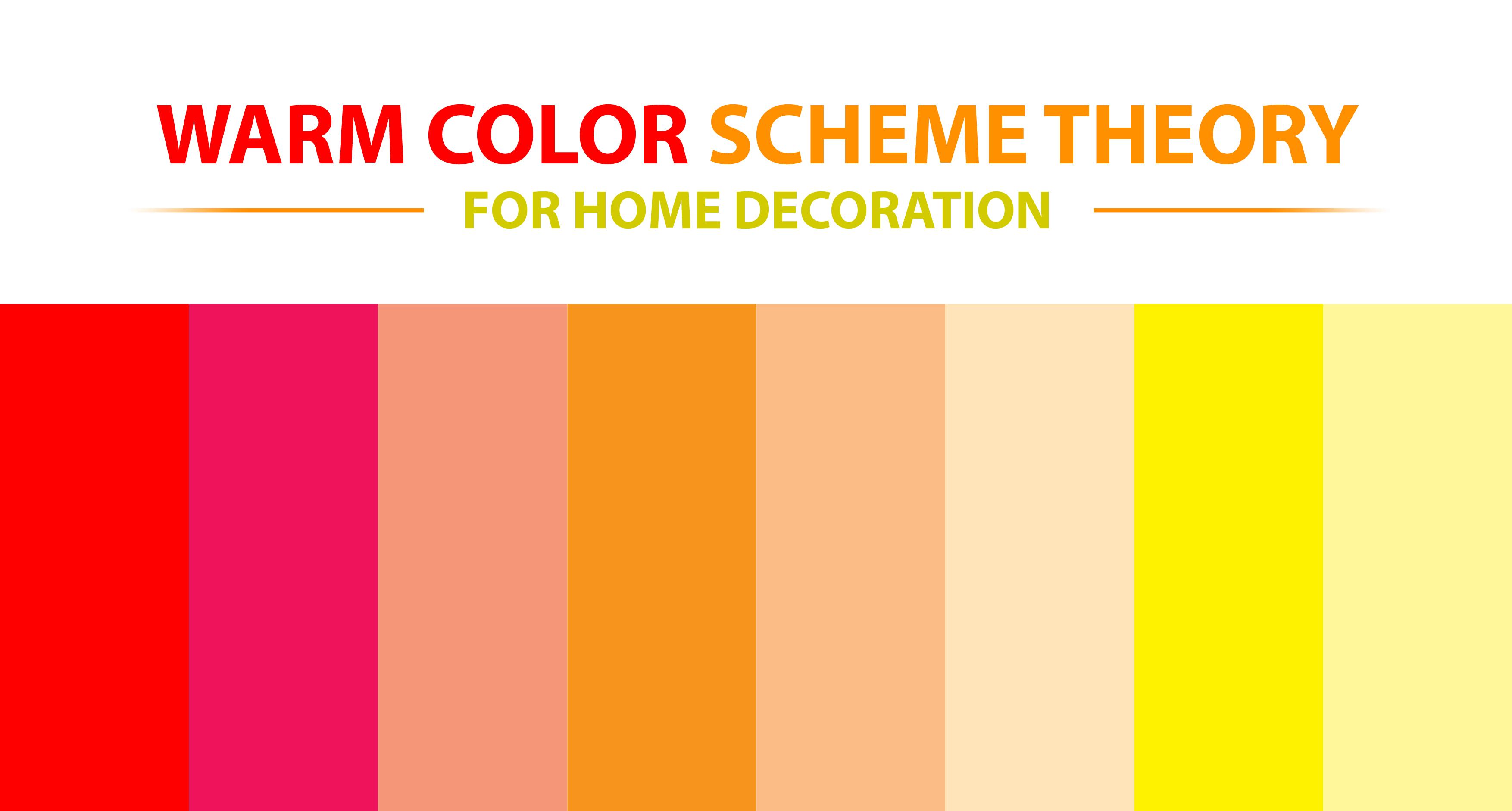 Warm Color Schemes