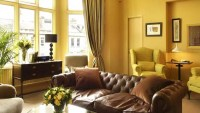 Warm Brown Living Room