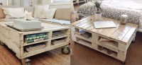 Pallet Coffee Table DIY  Cheap and Creative Furniture ...