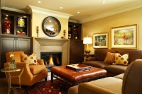 Warm Cozy Living Room Colors - [peenmedia.com]