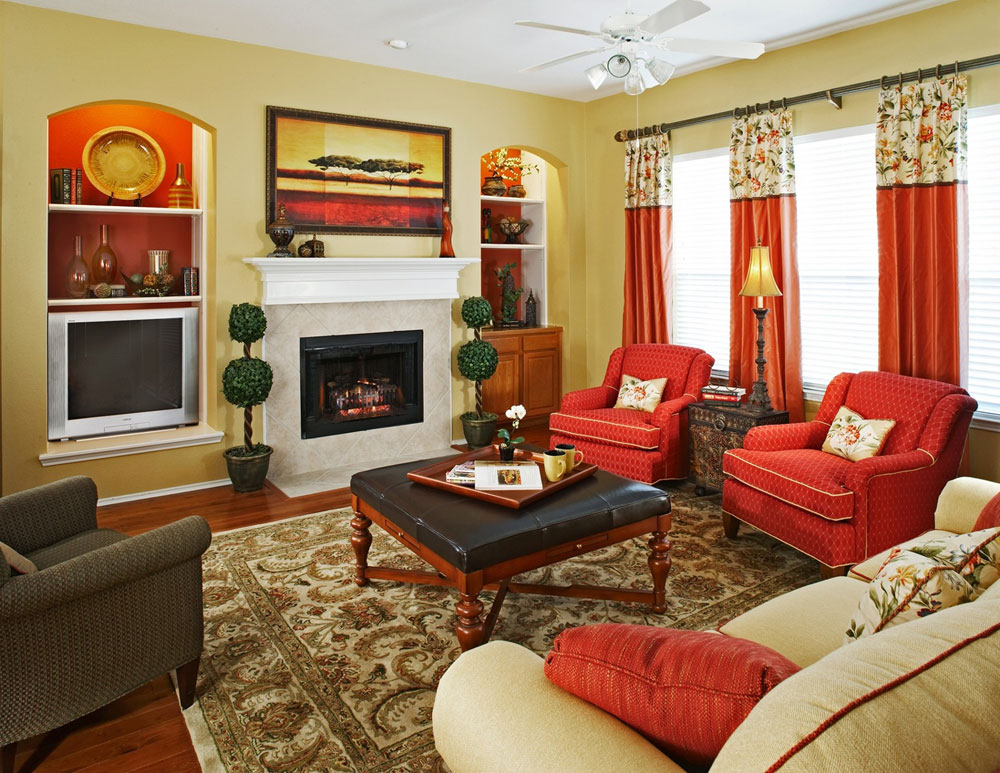 Red Living Room Ideas to Decorate Modern Living Room Sets   Roy Home Design