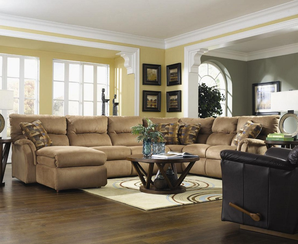 sofa style for small living room walmart ca table ideas with sectionals