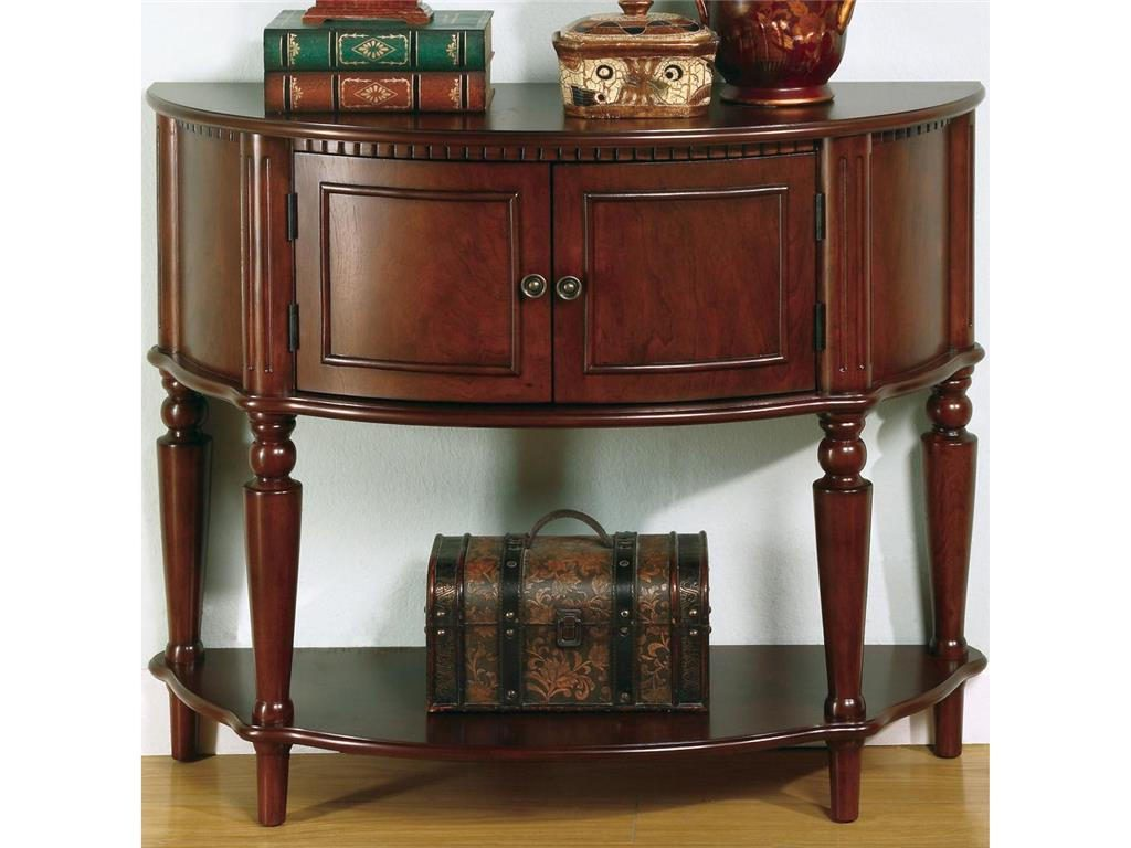 half round living room oak wooden end tables with storage
