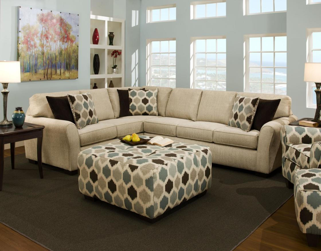 modern white sofa decorating ideas black wicker living room with sectionals for small