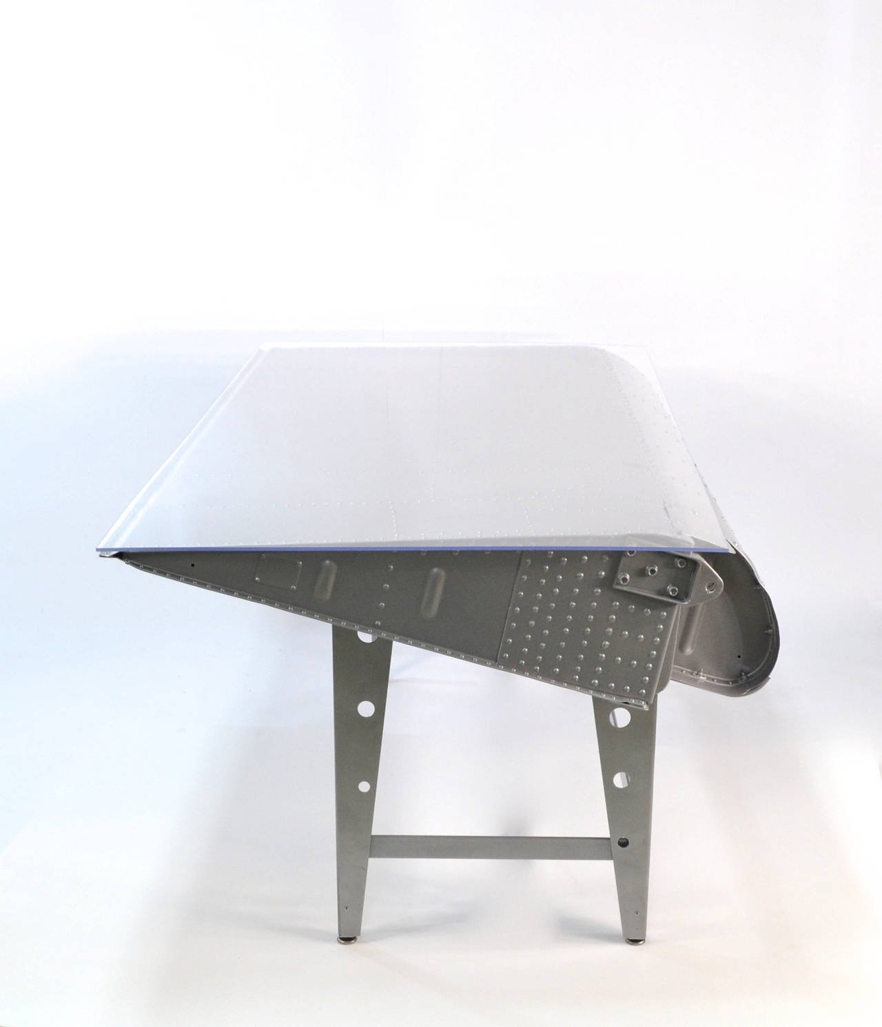 Airplane Wing Coffee Table