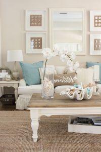 Beach Themed Coffee Table Decor | Roy Home Design