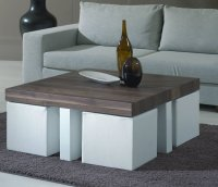 Coffee Table With Chairs Underneath | Roy Home Design