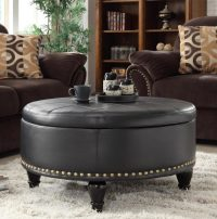 Cushion Coffee Table With Storage Furniture | Roy Home Design