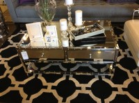 Mirrored Coffee Table Set Ideas   Roy Home Design