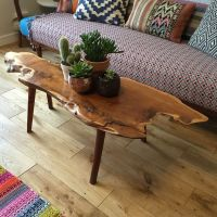Raw Edge Coffee Table Furniture | Roy Home Design