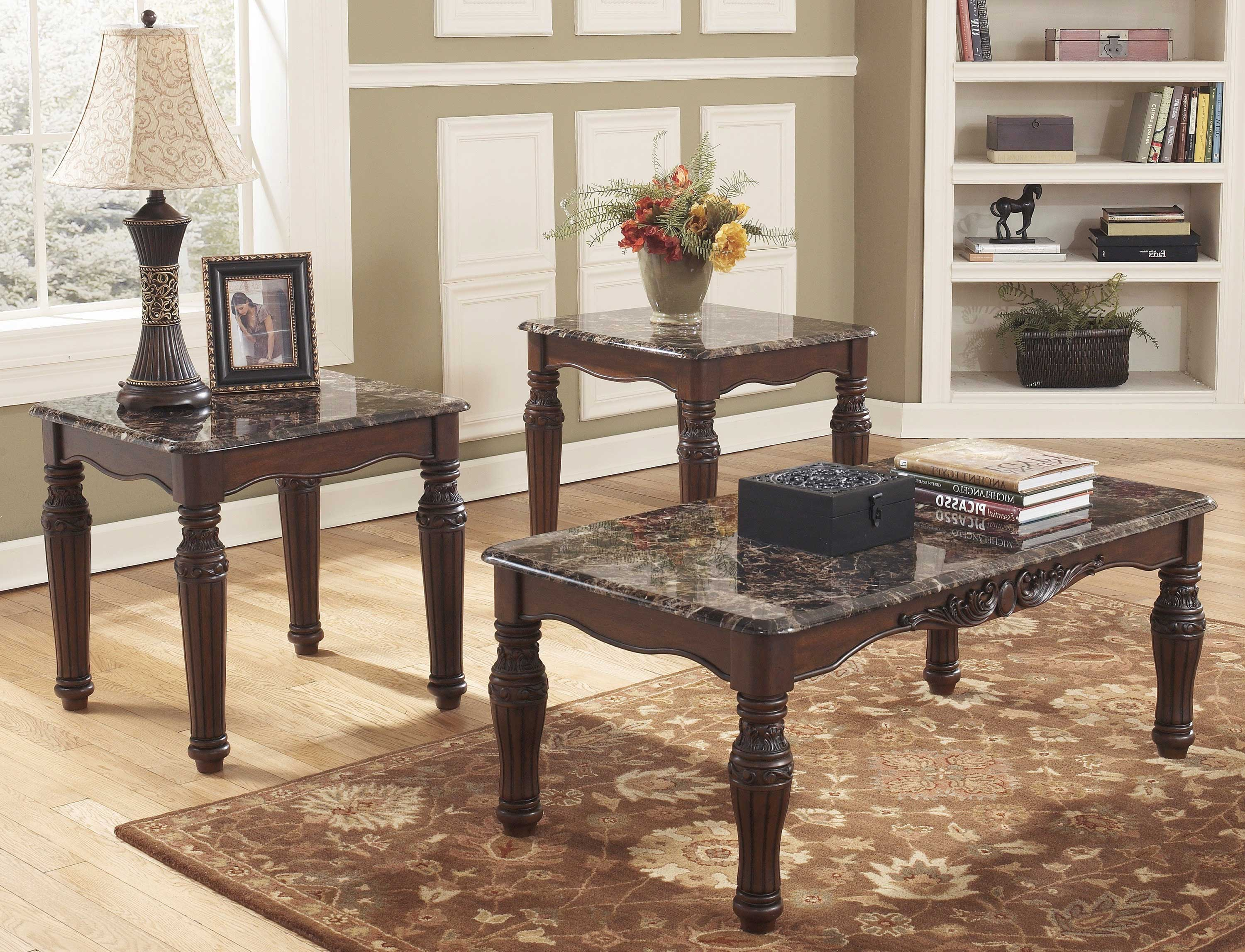 coffee table with chairs gray wicker chair black and end sets furniture roy home design