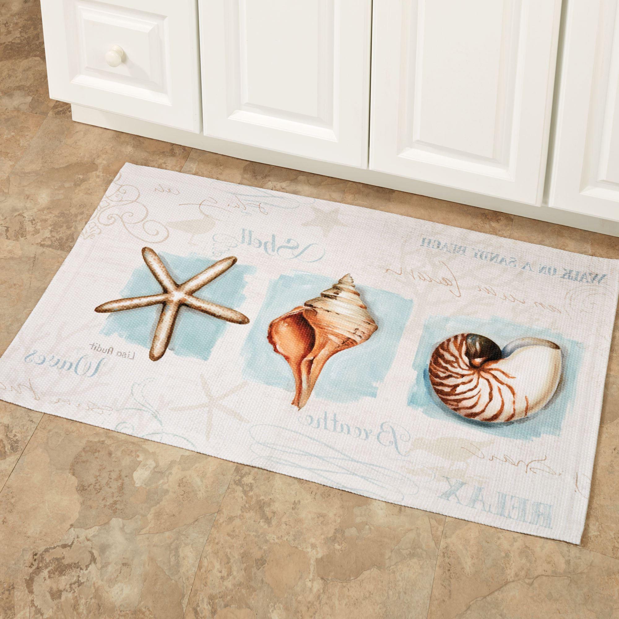 Coastal Kitchen Rugs Themed  Roy Home Design
