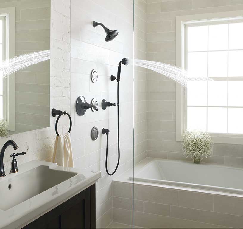Kohler Water Tile for Beautiful Shower  Roy Home Design