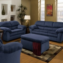 What Is A Sofa Chair Parson Slipcovers Navy Blue Coffee Table With Tufted Ottoman Roy Home Design