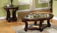 Oval Coffee Table Sets Decorating Ideas
