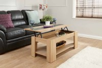 Pull Up Coffee Table Design | Roy Home Design