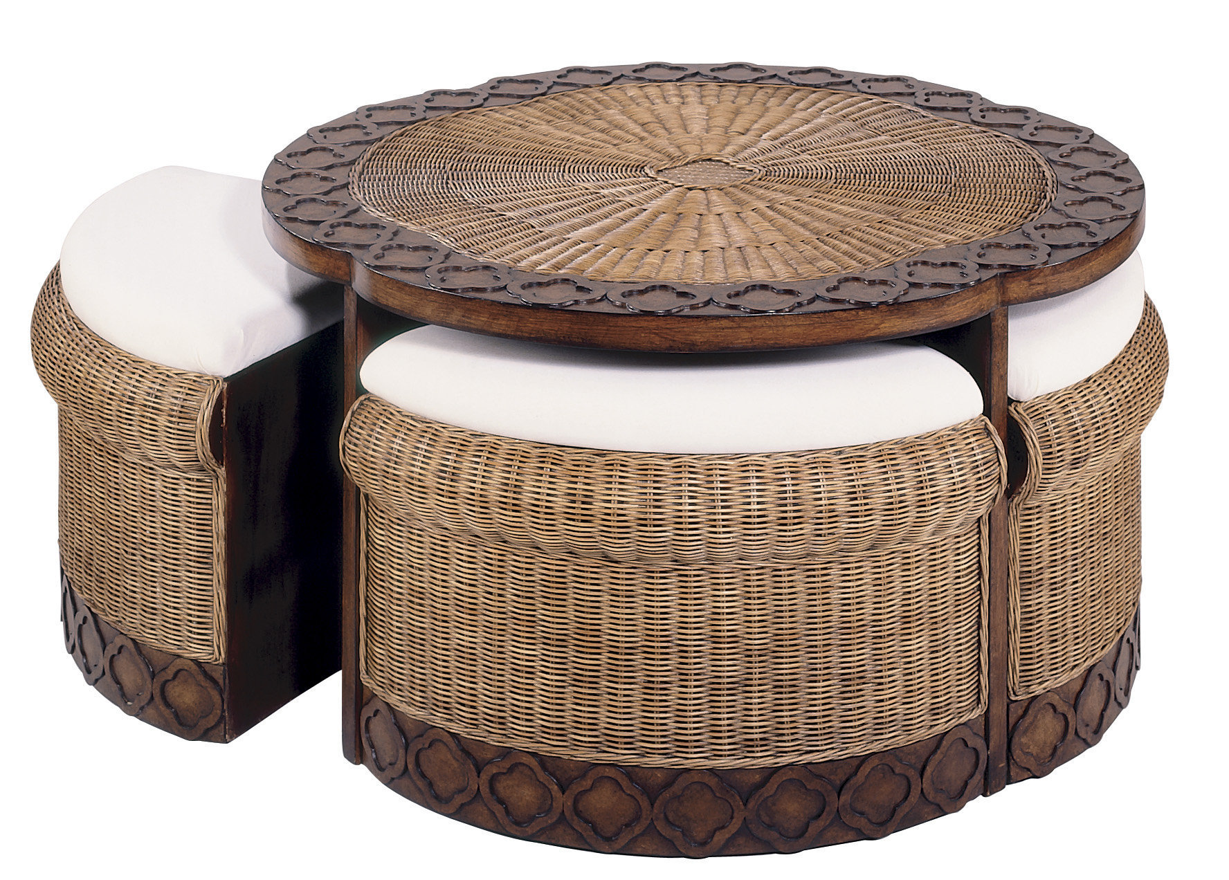 Coffee Table Stools Ottoman