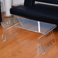Square Acrylic Coffee Table | Roy Home Design