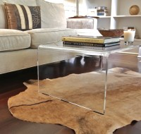 Square Acrylic Coffee Table