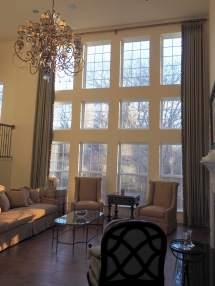 Two-Story Window Treatments