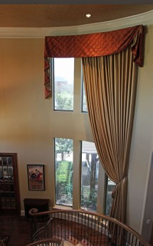 Two-Story Window Treatment Ideas