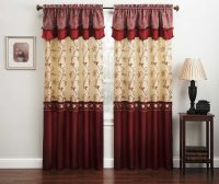 Burgundy Curtains for Living Room | Roy Home Design