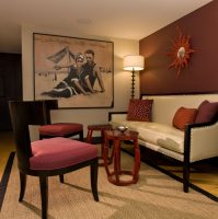 Burgundy Living Room Color Schemes | Roy Home Design