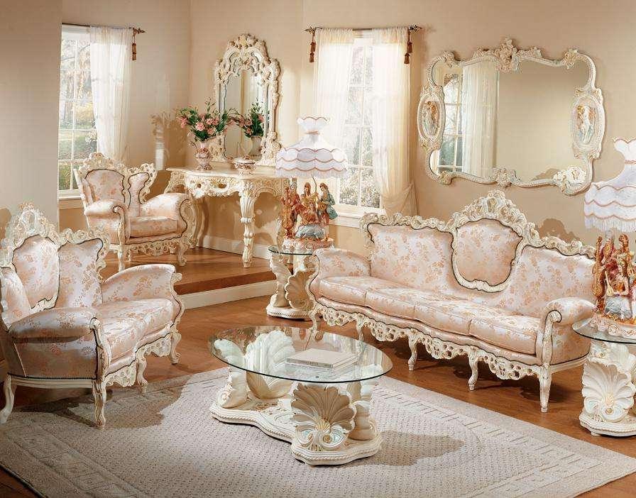 French Provincial Living Room Set Furniture