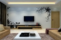 TV Wall Decoration for Living Room | Roy Home Design